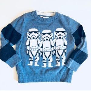 Gap Star wars stormtrooper sweater size 4